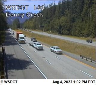 I-90 at MP 46.8: Denny Creek