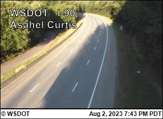 I-90 at MP 48.1: Asahel Curtis