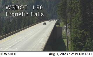 I-90 at MP 51.3: Franklin Falls