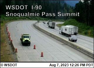Snoqualmie Summit on I-90 @ MP52
