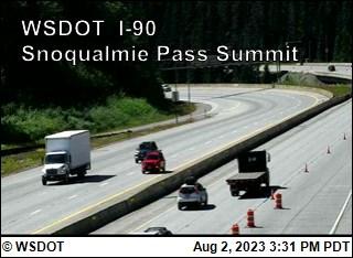 I-90 at MP 52: Snoqualmie Summit