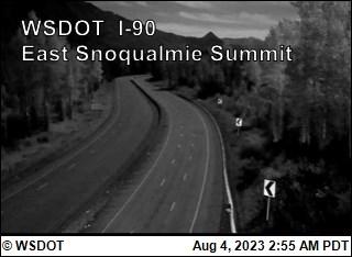 East Snoqualmie Summit on I-90 @ MP53