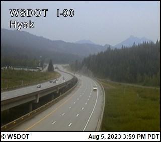 I-90 at MP 55.1: Hyak