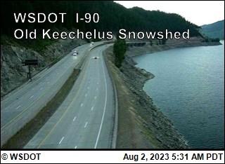 Old Keechelus Snow Shed I-90 @ MP 57.7