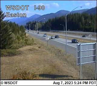I-90 at MP 70.6: Easton