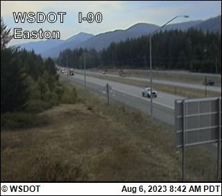Easton on I-90 @ MP70.6