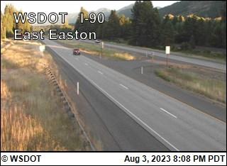 I-90 at MP 72.6: East Easton