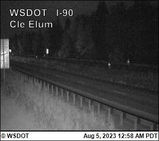 Cle Elum on I-90 @ MP 84.6