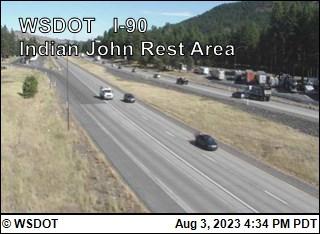Indian John Hill on I-90 @ MP89