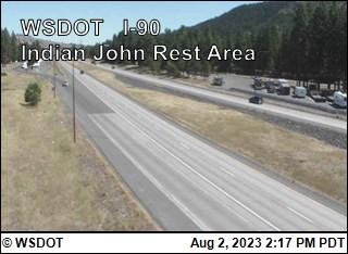 I-90 at MP 89.4: Indian John Hill