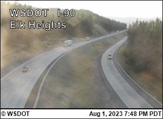 I-90 at MP 92.1: Elk Heights