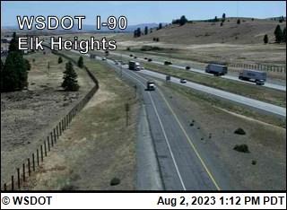 I-90 at MP 93.6: Elk Heights