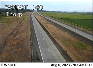 Thorp on I-90 @ MP101