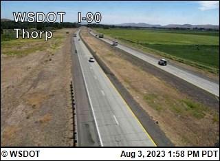 I-90 at MP 101: Thorp