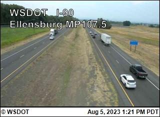 Ellensburg I-90 @ MP 110