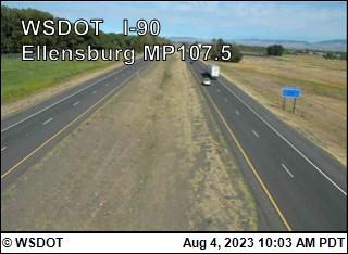 I-90 at MP 107.5: Ellensburg