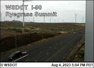 I-90 at MP 125.8: Ryegrass Summit