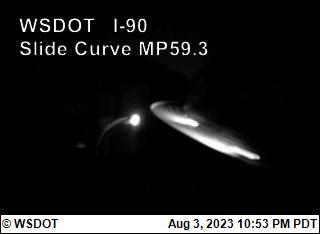I-90 at MP 59.3: Slide Curve