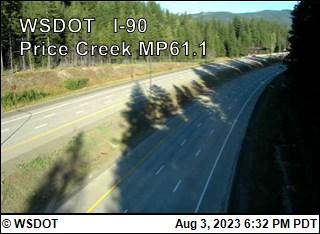 I-90 at MP 61.1 Price Creek