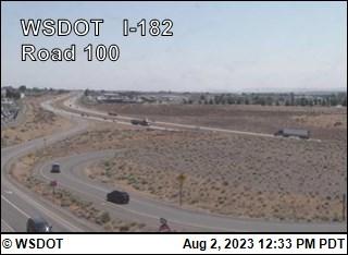 I-182 at MP 7.3: Road 100