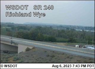 Richland Wye on SR 240  @ MP 38