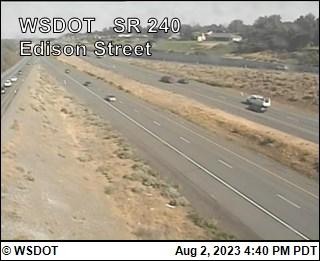 SR 240 at MP 40.4: Edison St