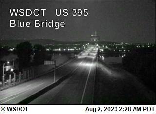 Blue Bridge on US 395 @ MP 19