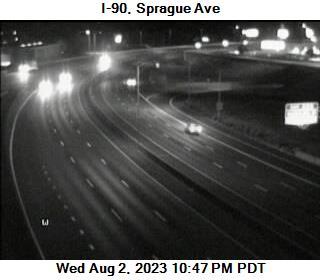 I-90 at MP 285.5: Sprague Ave