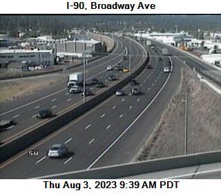 WSDOT - I-90 at MP 286 2: Broadway Ave - Washington State