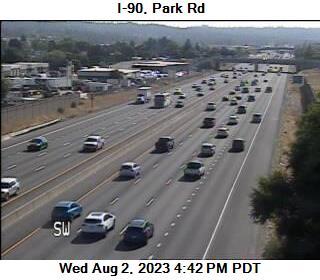 I-90 at MP 287.1: Park Rd