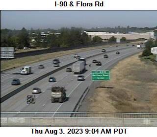 I-90: Flora Rd