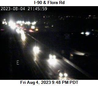 I-90 at MP 293: Flora Rd