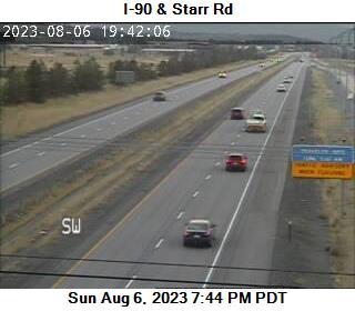 I-90: Starr Rd