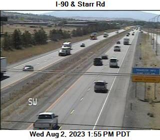 I-90 at MP 298.2: Starr Rd