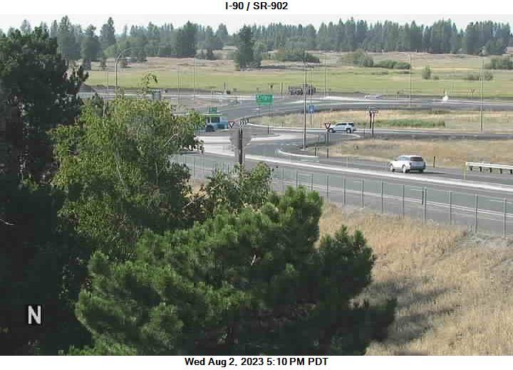 I-90 at MP 272.2: SR-902 Interchange
