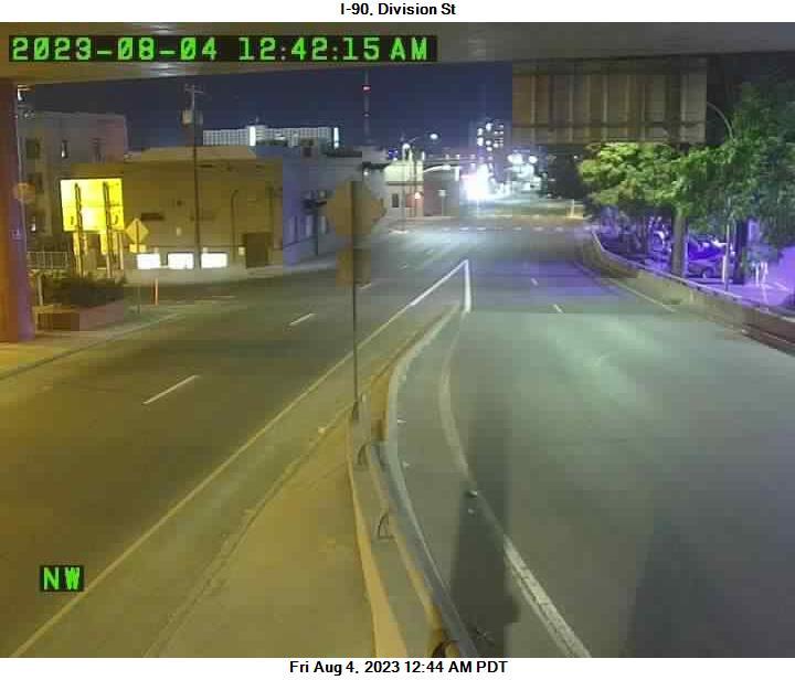 I-90 at MP 281.2: Division #2
