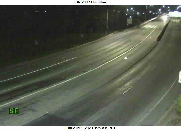 SR 290 at MP .7: Hamilton