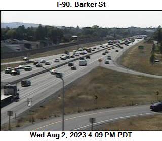 I-90 at MP 293.9: Barker Rd