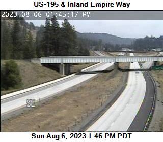US 195 at MP 94.3: Inland Empire Way