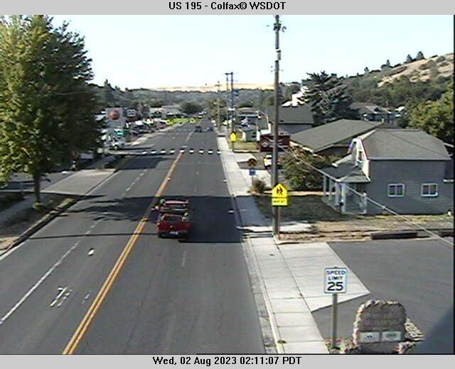US 195 at MP 38.5: Colfax