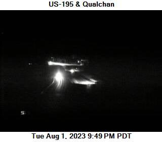 US 195 at MP 93: Qualchin Rd