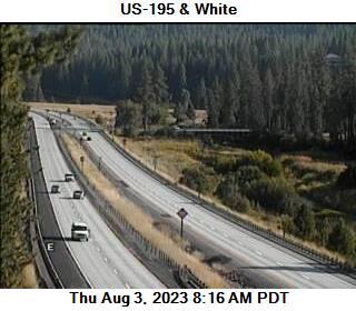 US 195 at MP 90.7: White Rd