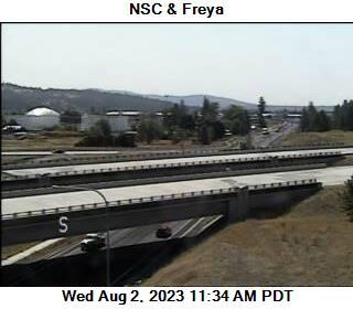 US 395 NSC at MP 162.1: NSC 395 & Freya