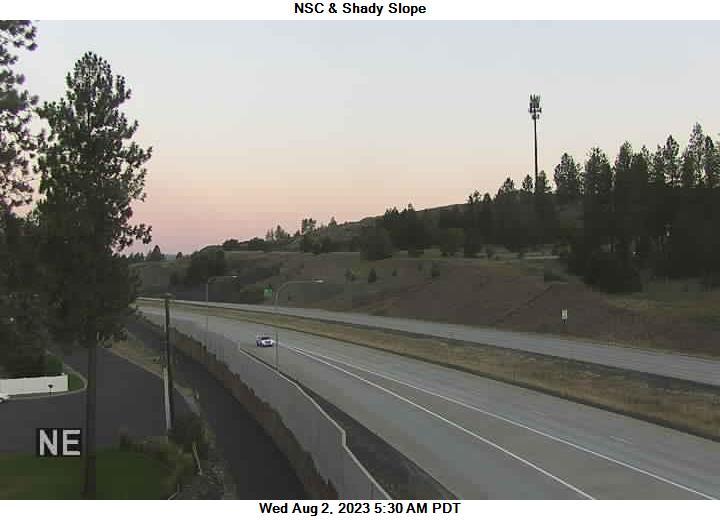 US 395 NSC at MP 166.3: NSC 395 & Shady Slope