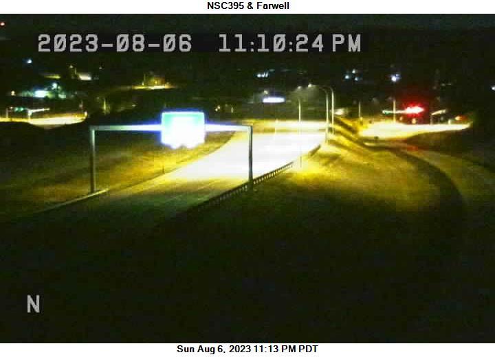 US 395 NSC at MP 165.2: NSC 395 & Farwell