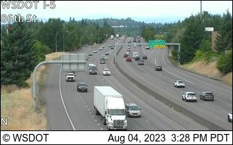 I-5 at MP 4.9: 86th St