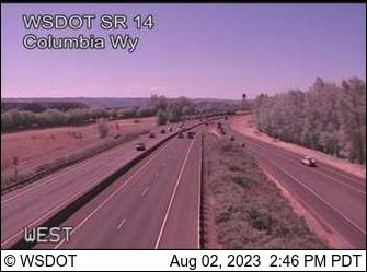 SR 14 at MP 0.9: Columbia