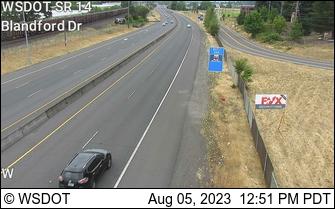 SR 14 at MP 2.4: Blanford Dr