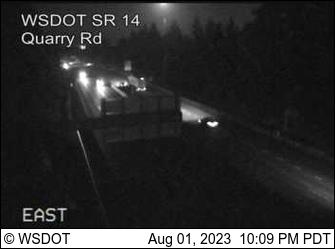 SR 14 at MP 9.5: Quarry Rd