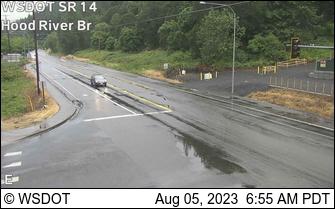SR 14 at MP 65: Hood River Bridge